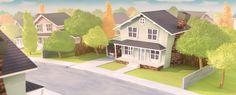 3d cartoon neighbourhood acinfog@gmail.com 3d Cartoon, The Neighbourhood, Wire, Outdoor Decor, Inspiration, Home Decor, Biblical Inspiration, The Neighborhood, Decoration Home