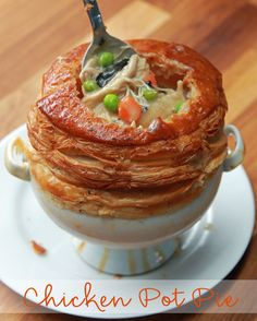 Chicken Pot Pie As Made By Chef Wolfgang Puck | This Chicken Pot Pie Made By Chef Wolfgang Shut The Tasty Kitchen Down