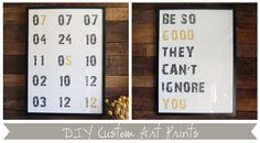 DIY Custom Art Prints via Cape27Blog