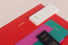 Brand Identity for Cienne by Lotta Nieminen