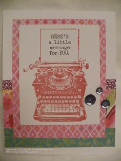 The Inky Scrapper: April Stamp of the Month Blog Hop #Brushed #MakeItFromYourHeartVol2
