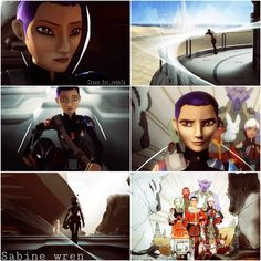 Sabine wren Sw Rebels, Star Wars Rebels, Star Trek, Tribal Warrior, High Ground, Funny Picture Quotes, Last Jedi, Love Stars, Obi Wan