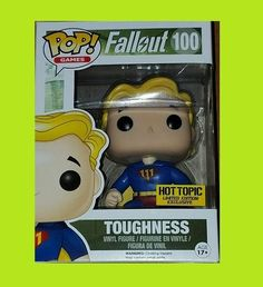 Funko Pop Vault Boy Toughness Fallout #100 Mystery HOT TOPIC EXCLUSIVE in stock