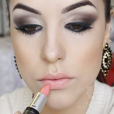 Bruna Malheiros Makeup » Blog Archive » Smokey Eyes Marrom: Usando Quarteto Dailus