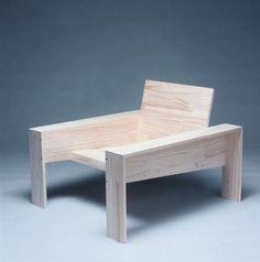 SILLÓN. madera. exterior Más