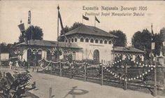 Bucuresti - Expozitia nationala 1906 - Regia Monopolurilor de stat Bucharest Romania, Mecca, Old City, Pavilion, Old Photos, Paris Skyline, Taj Mahal, Dan, Country