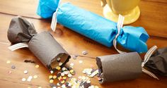 New Year's   DIY Party Poppers