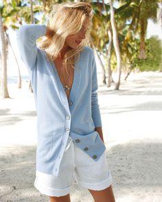 Cashmere Boyfriend Cardigan | Finest Cashmere Clothing | Pure Collection