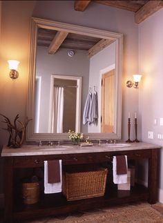 double sink, bit mirror