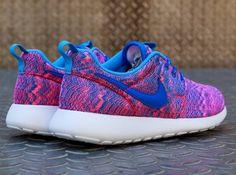 Nike Roshe Run Print Hyper Cobalt #nike #rosherun #roshe #run #print
