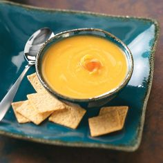 "Curried Parsnip Soup Recipe -""My mum used to make this recipe at home in England, where parsnips are more widely used than here. It's very aromatic and has a nice bite from the curry and pepper."" Julie Mathieson – Bristol, Tennessee"