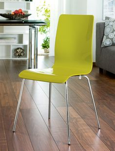 Just what I need - lime green chairs for my kitchen.