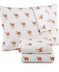 Martha Stewart WHIM Collection 100% Cotton Sheet Set Colorful Camels (Twin) #MarthaStewart #Contemporary