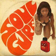 """Soul Cure"" by The Power Pack Music Logo, Vinyl Music, Vinyl Cover, Cover Art, Musik Illustration, Music Maniac, Funk Bands, Paper Flower Art, Art Photography Portrait"