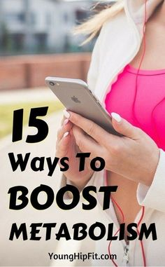 Ways to boost metabolism. Lose weight fast and keep it off! 15 little known but totally easy ways to speed up your metabolism! View all 15 ways increase metabolism by reading this article!