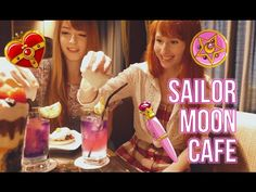 Sailor Moon Cafe with Audrey! ♥ - YouTube