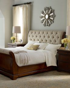 @Melanie this is kinda like the bed I was talking about that I feel in love with but the footboard had more material. Love it!