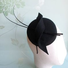 Hey, I found this really awesome Etsy listing at https://www.etsy.com/listing/219112135/black-pillbox-hat-pillbox-hat-perch-hat