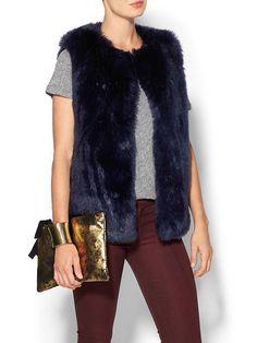 Faux Fur Vest Product Image