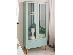 Vitrinenschrank Mint-Pastell | Dining area, Buffet and Interiors