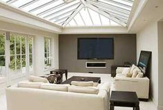 Trendy Home Sweet Hom Drawing House Plans 41 Ideas Bungalow Extensions, Garden Room Extensions, House Extensions, Orangerie Extension, Conservatory Interiors, Modern Conservatory, Roof Design, House Design, Drawing House Plans