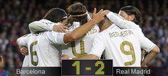 Por fin. El R. Madrid gana al Barça!!