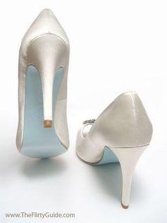 Blue sole shoes ;)