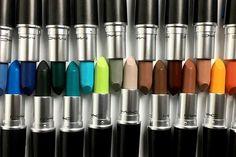 Colour Rocker : la nouvelle collection de rouges à lèvres Mac  #mac #collection #makeup #maquillage #rougeàlèvres #beauté #ColourRocker #nouveautés #monvanityideal  Plus de conseils maquillage sur www.monvanityideal.com