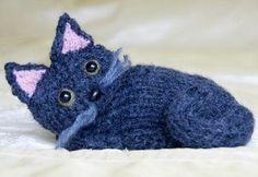 FREE Knit Cat Pattern