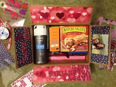 Valentines Day Care package!! :)