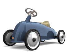 Rider Bleu Baghera. Votre enfant pourra s'amuser et se mettre dans la peau d'un pilote de courses!