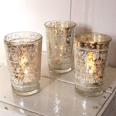 etched glass tealight holder by red lilly | notonthehighstreet.com