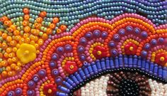 LollyChops has posted a quick guide to basic bead embroidery. If you've never tried adding beads to an embroidery project, Lolly will take away your fears. Embroidery Needles, Beaded Embroidery, Cross Stitch Embroidery, Hand Embroidery, Seed Bead Jewelry, Seed Beads, Beaded Jewelry, Textiles, Beading Patterns