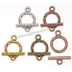Zinc Alloy OT Clasps,Plated,Cadmium And Lead Free,Various Color For Choice,Approx 15.5*12*2mm,Bar:5.5*15.5*1.5mm,Hole:Approx 2mm,Sold By Bags,No002807