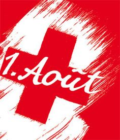 1. Août eli 1.8  vietetään Sveitsissä kansallispäivää.