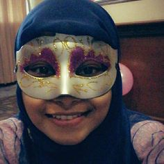 Is it happy to smile behind the mask ?
