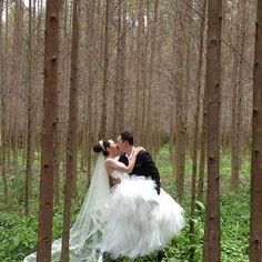 Prewedding photo, Siew Lee  MK #wedding #photo #forest