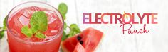 Electrolyte Punch