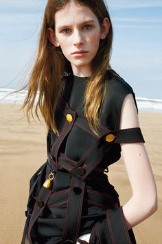 Céline Spring/Summer 2015 Model: Freya Lawrence, Joan Didion, Marie-Agnès Gillot Photographer: Juergen Teller