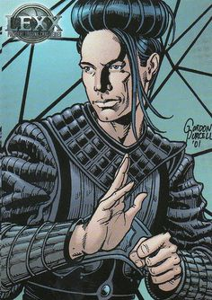 LEXX - Kai last undead assasin  #61 2002 by Jimmy Tyler, via Flickr