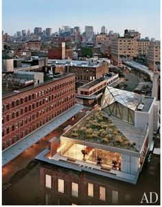 Diane Von Furstenburg's fabulous rooftop apartment