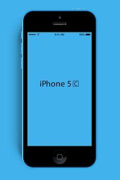 Freebie: iPhone-5c-mockup-blue