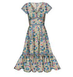 M6749, Misses' Lined Dresses