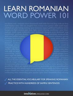 Learn Romanian - Word Power 101 - Innovative Language Learning,...: Learn Romanian - Word Power 101 - Innovative… #ForeignLanguages Romanian Language, Foreign Languages, Free Ebooks, Innovation, Learning, Words, Children, Random, Romania