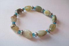 Blue Crush Collection Aquamarine Stone by littleofthislilothat, $12.00