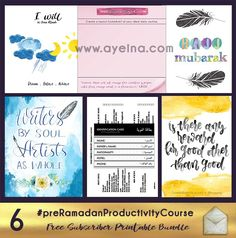 Productivity 6: Hajj Budgeting, Health Goals, Social Life & Bucket List | AYEINA