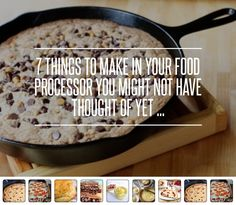 7 #Things to Make in Your Food Processor You #Might Not Have Thought of Yet ... → Food #Vegan