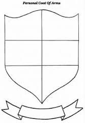 coat of arms template worksheet 3 conference theme medieval pinterest worksheets arms. Black Bedroom Furniture Sets. Home Design Ideas