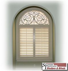 half+round+window+treatments | Half Arch Window Treatments http://www.shutters4u.com/iron-art/arches ...