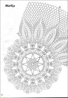 a large selection of 4 Crochet Mandala Pattern, Crochet Diagram, Crochet Stitches Patterns, Thread Crochet, Filet Crochet, Crochet Hooks, Stitch Patterns, Crochet Tablecloth, Crochet Doilies